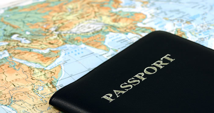 Паспорт на визу