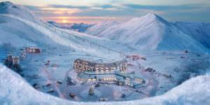Лыжный курорт Гудаури
