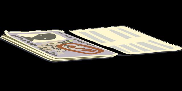 Шенгенская виза в пасспорте