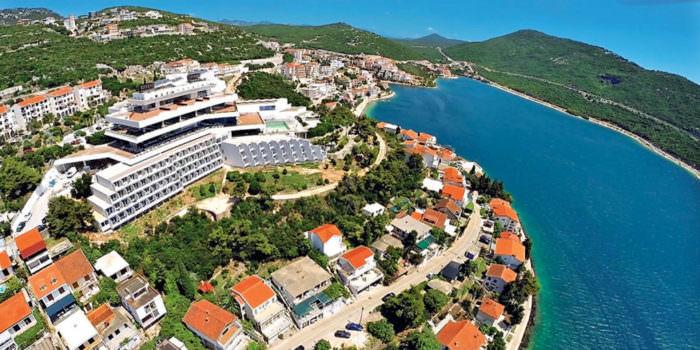 Неум пляжный город в Боснии