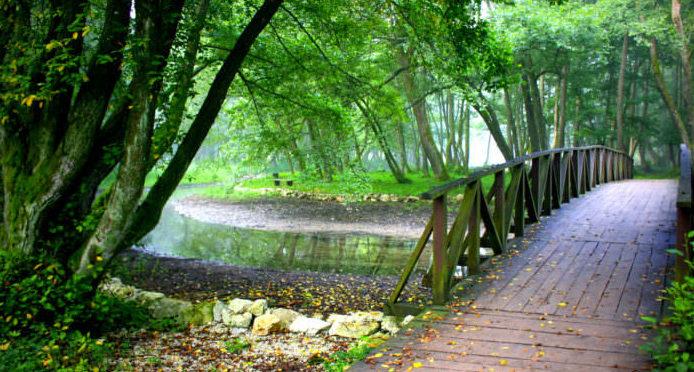 Парк Врело-Босне в Боснии и Герцоговине