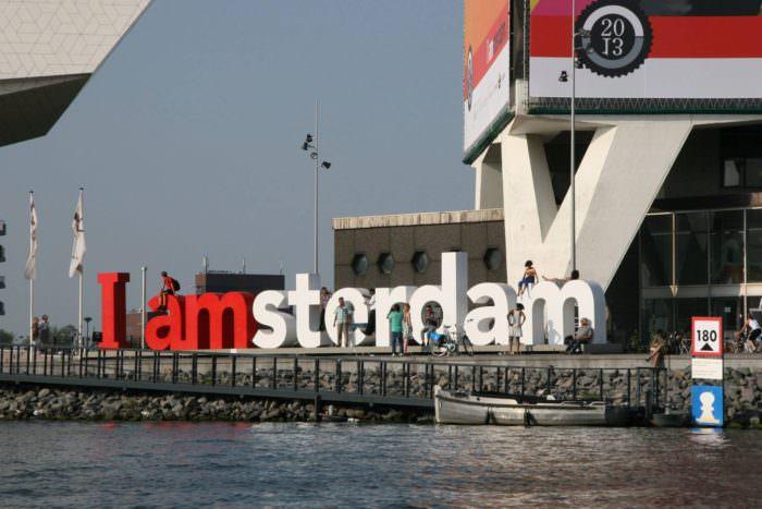 Амстердам в Нидерландах