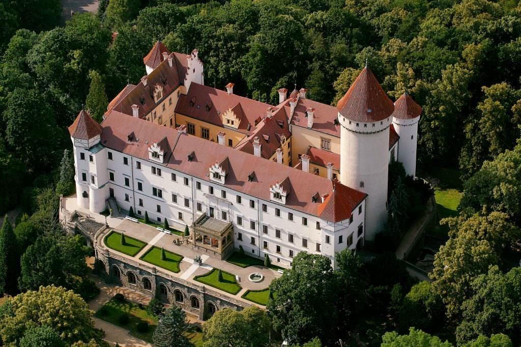 Замок Конопиште в Чехии