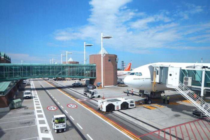 Аэропорт Марко Поло в Италии