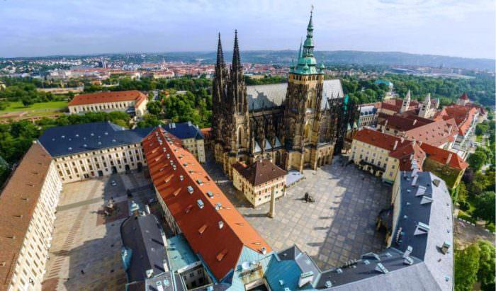 Замок Пражский град Чехия