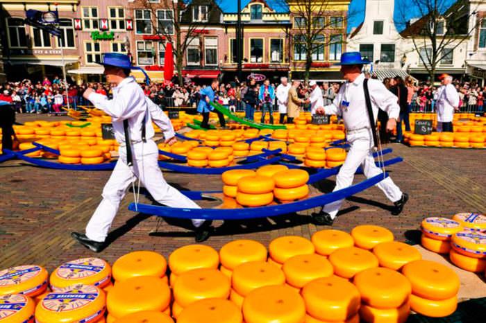 Фестиваль сыра в Голландии