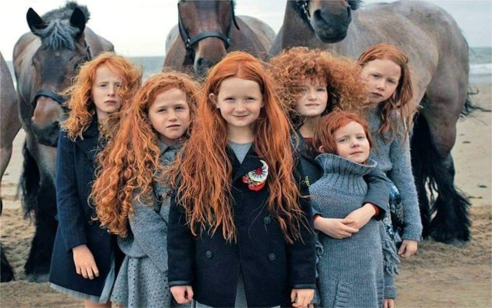 Праздник рыжих в Ирландии