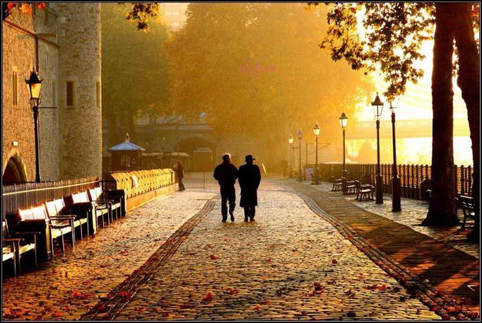 Погода в Англии осенью