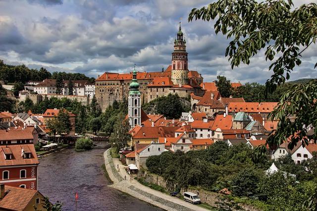 Крумлов в Чехии