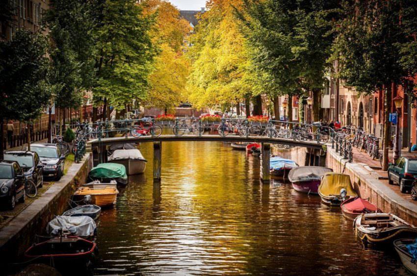 Городской пейзаж в Бельгии