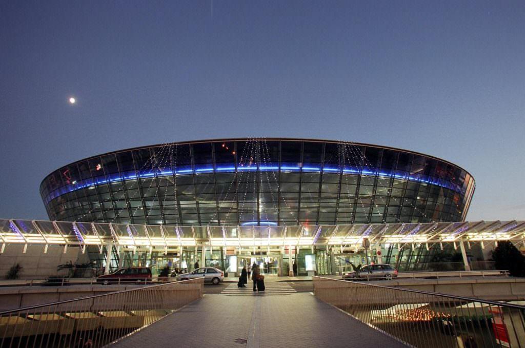 Аэропорт в Ницце Франция