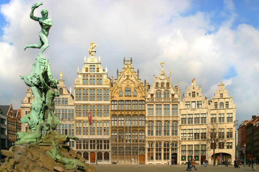 Антверпен в Бельгии