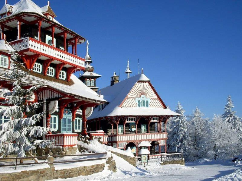 Горнолыжный курорт Янске Лазне в Чехии