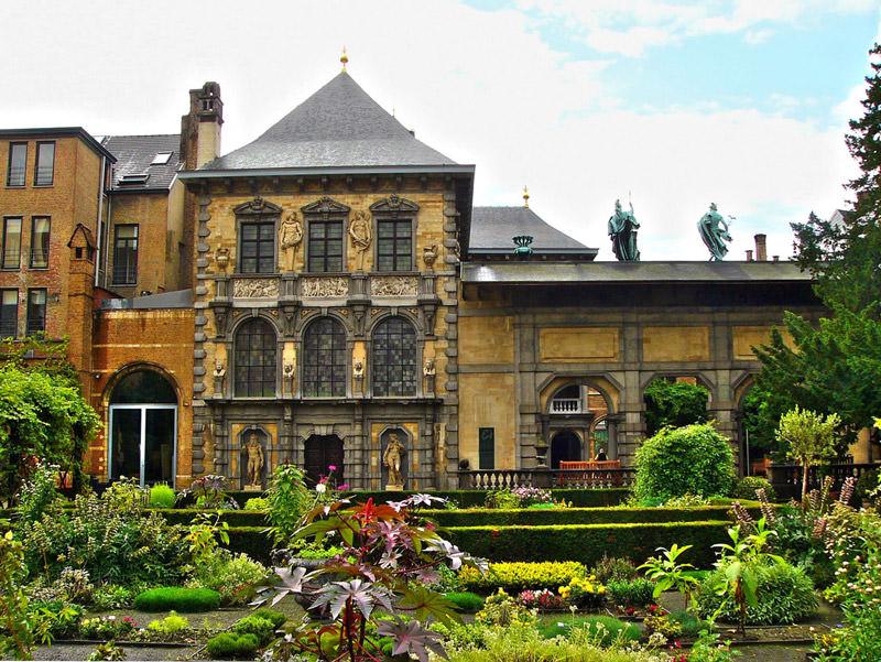 Музей Рубенса Антверпен Бельгия