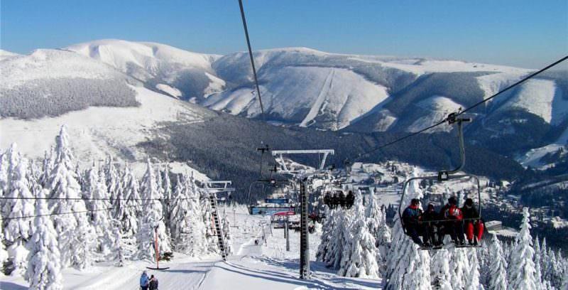 Шпиндлерув Млын горнолыжный курорт в Чехии