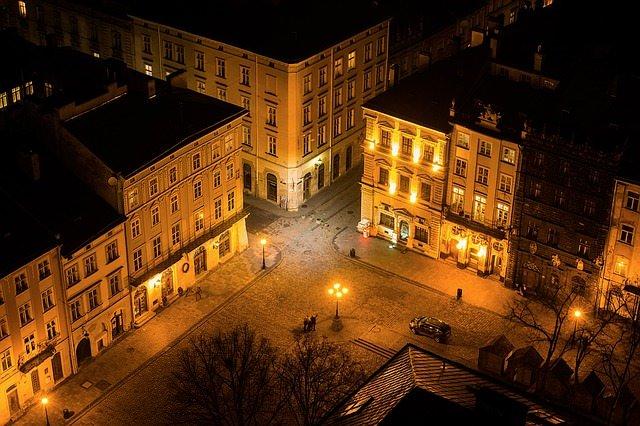Ратуша, площадь ринок, Львов, Украина