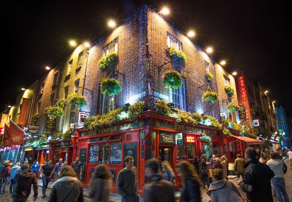 Тэмпл-Бар в Дублине